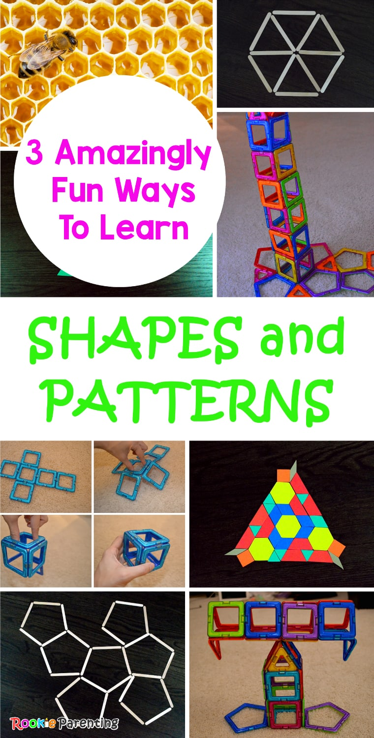 Fun Math Games - Learning Shapes And Patterns Activities
