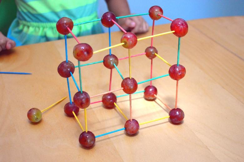 3D grapes structure