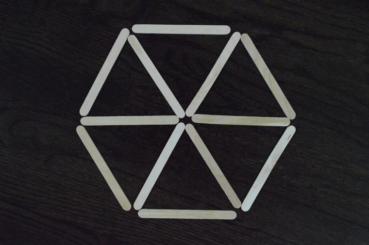 spatial patterns hexagon