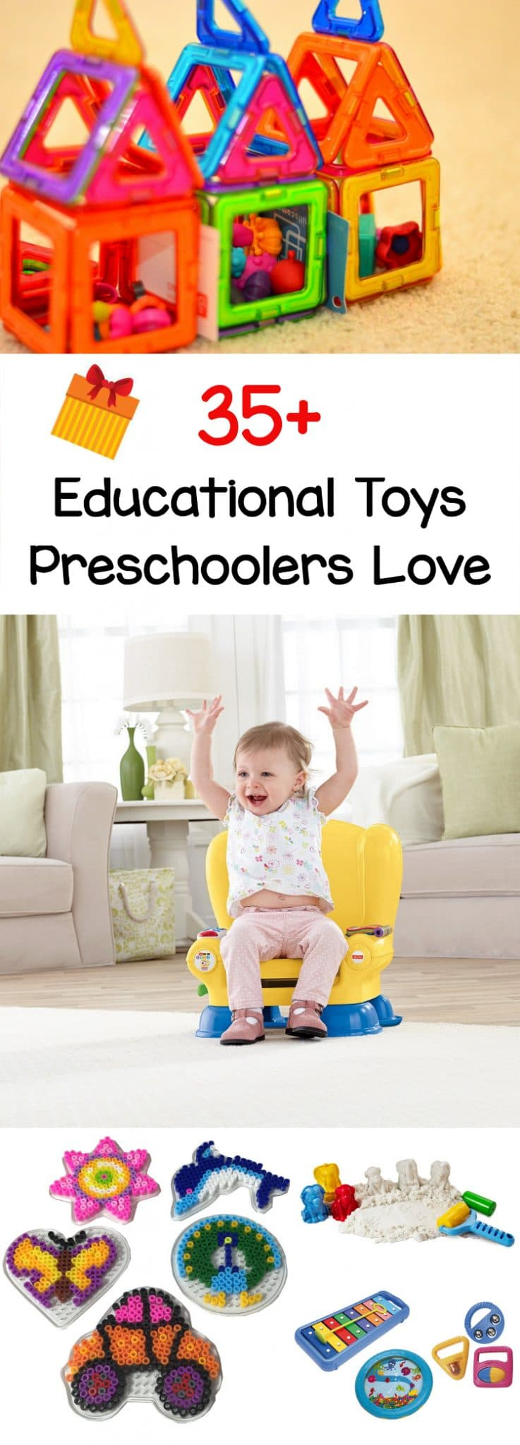 Gift Ideas - 35+ Educational Toys Preschoolers Love