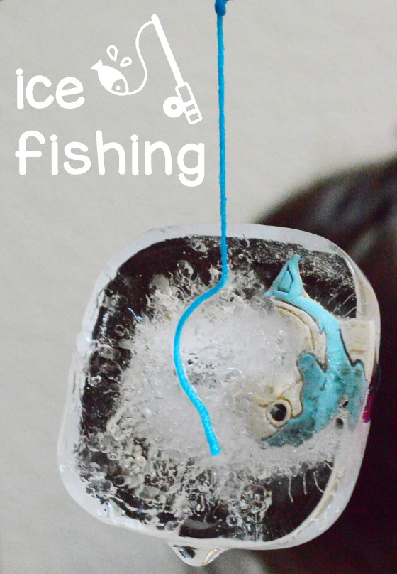 Ice Fishing Freezing Point Experiment - Science Project - STEM