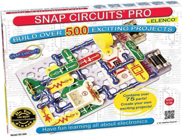 S.T.E.A.M. Line Toys Elenco Snap Circuits Pro