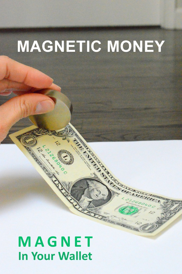 Magnetic Money In Your Wallet Experiment