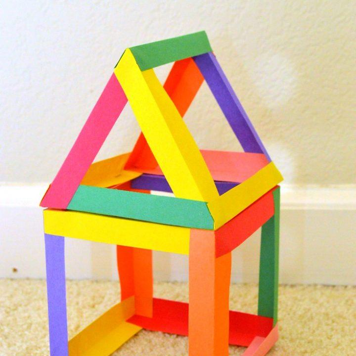 paper shapes STEM activities