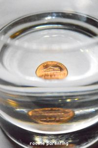density of a coin experiment