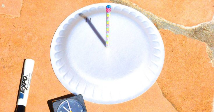 Sundial Science STEM Activity